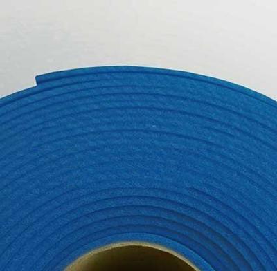 Изолон ППЭ 2 мм, ширина 75 см Цвет: Васильковый (B549)