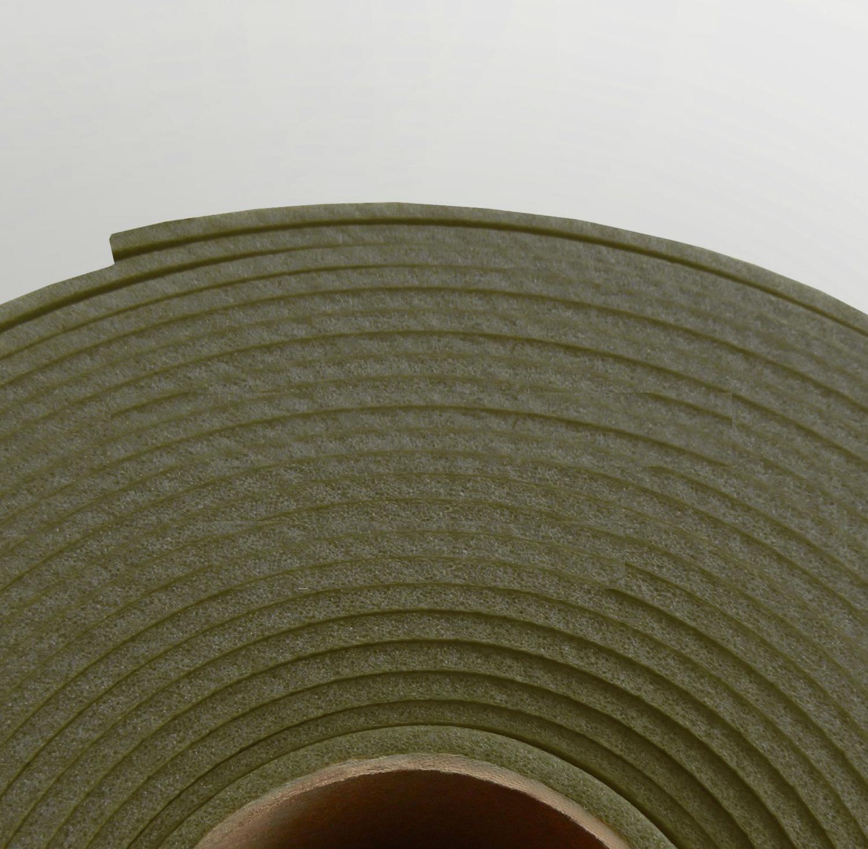 Изолон ППЭ 1 мм, ширина 75 см Цвет: Хаки (G440)