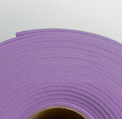 Изолон ППЭ 2 мм, ширина 75 см Цвет: Сиреневый (V644)