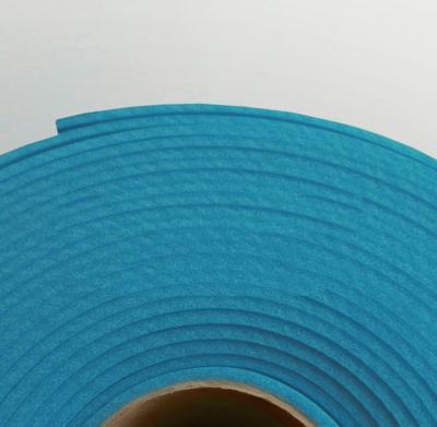 Изолон ППЭ 2 мм, ширина 75 см Цвет: Синий (B543)