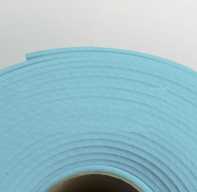 Изолон ППЭ 2 мм, ширина 75 см Цвет: Бледно-голубой (B548)