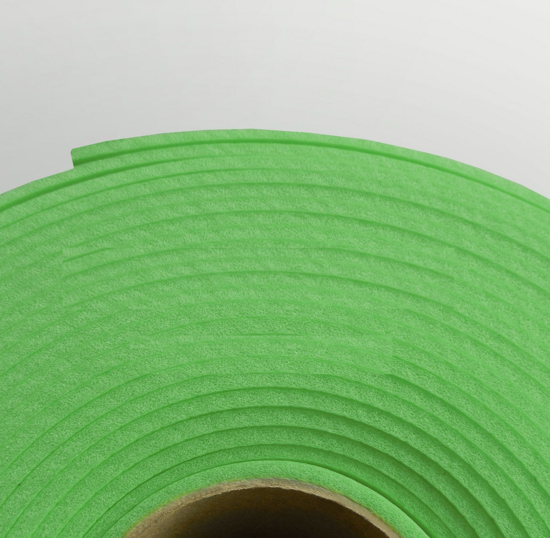 Изолон ППЭ 2 мм, ширина 75 см Цвет: Зеленый (G444)