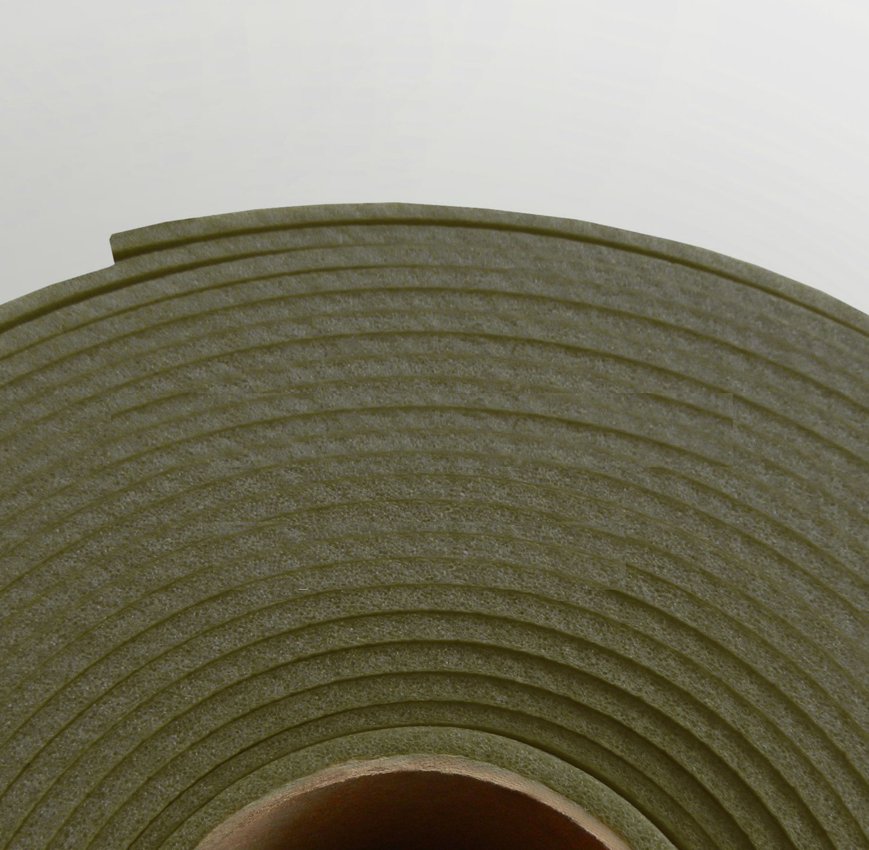 Изолон ППЭ 3 мм, ширина 1,00 м Цвет: Хаки (G440)