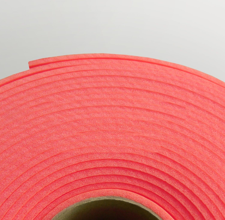 Изолон ППЭ 3 мм, ширина 1,00 м Цвет: Красный (R141)
