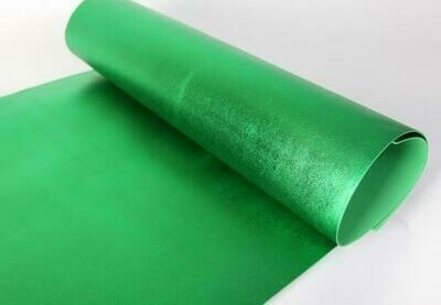 Фоамиран Металлик. толщина 2мм, 60x70см. Зеленый