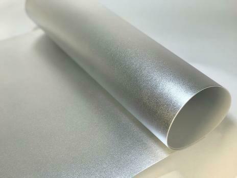 Фоамиран Металлик. толщина 2мм, 60x70см. Серебро