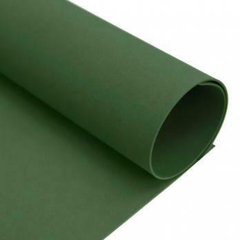 Фоамиран зефирный 2мм 50х50см. Темно-зеленый