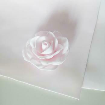 Фоамиран зефирный 2мм 60х70см. Светло-розовый