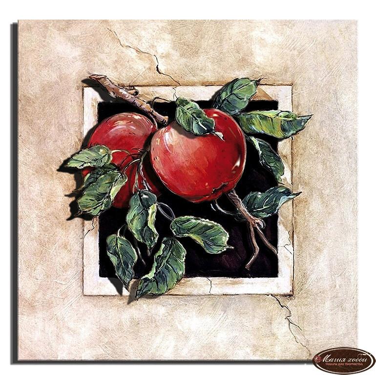 Спелые яблочки, Размер: 20*20