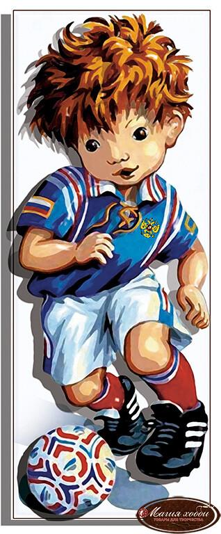 Юнный футболист, Размер: 9,5*24
