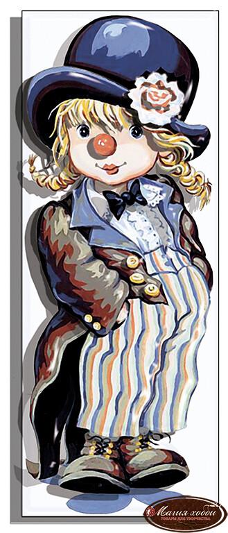 Малышка клоун, Размер: 9,5*24