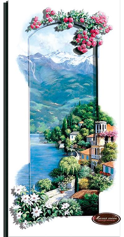Итальянский пейзаж. Сардиния, Размер: 14*30