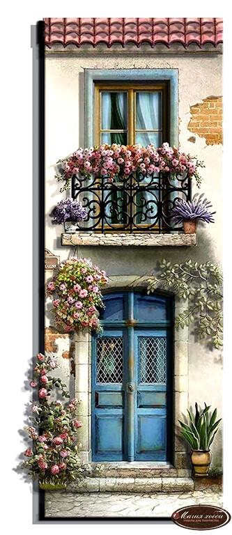 Домик мечты. Франция, Размер: 18*48