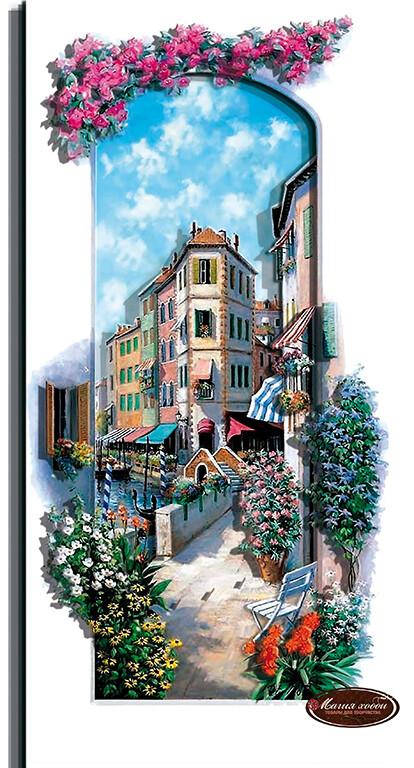 Итальянский пейзаж. Венеция, Размер: 14*30