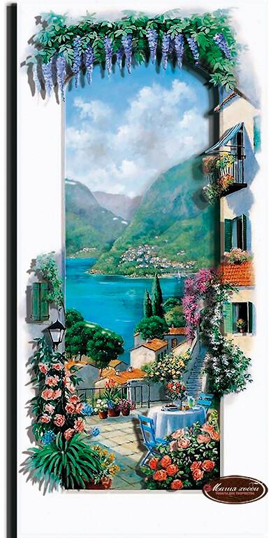Итальянский пейзаж. Сицилия, Размер: 14*30