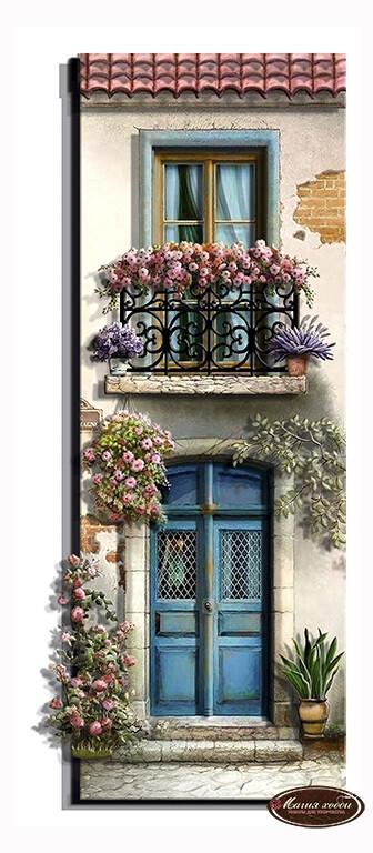 Домик мечты. Франция, Размер: 10*28