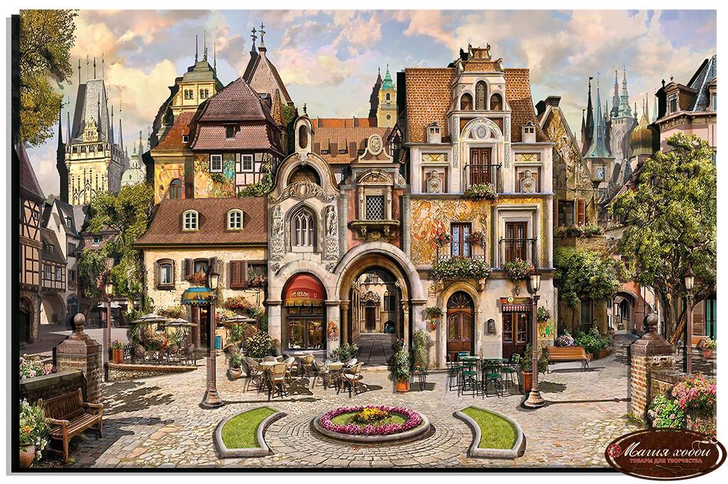 Старый город, Размер: 40*60