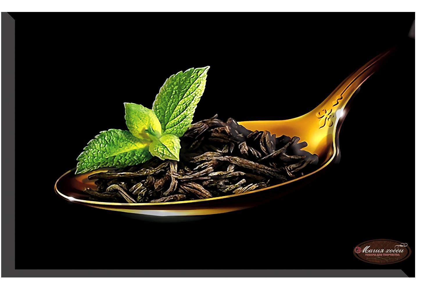Чай с мятой, Размер: 15*20