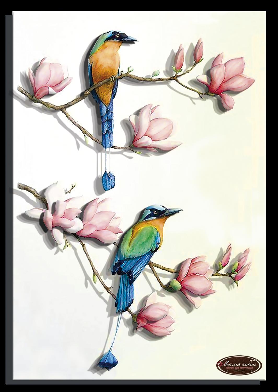 Райские птички-2, Размер: 20*28