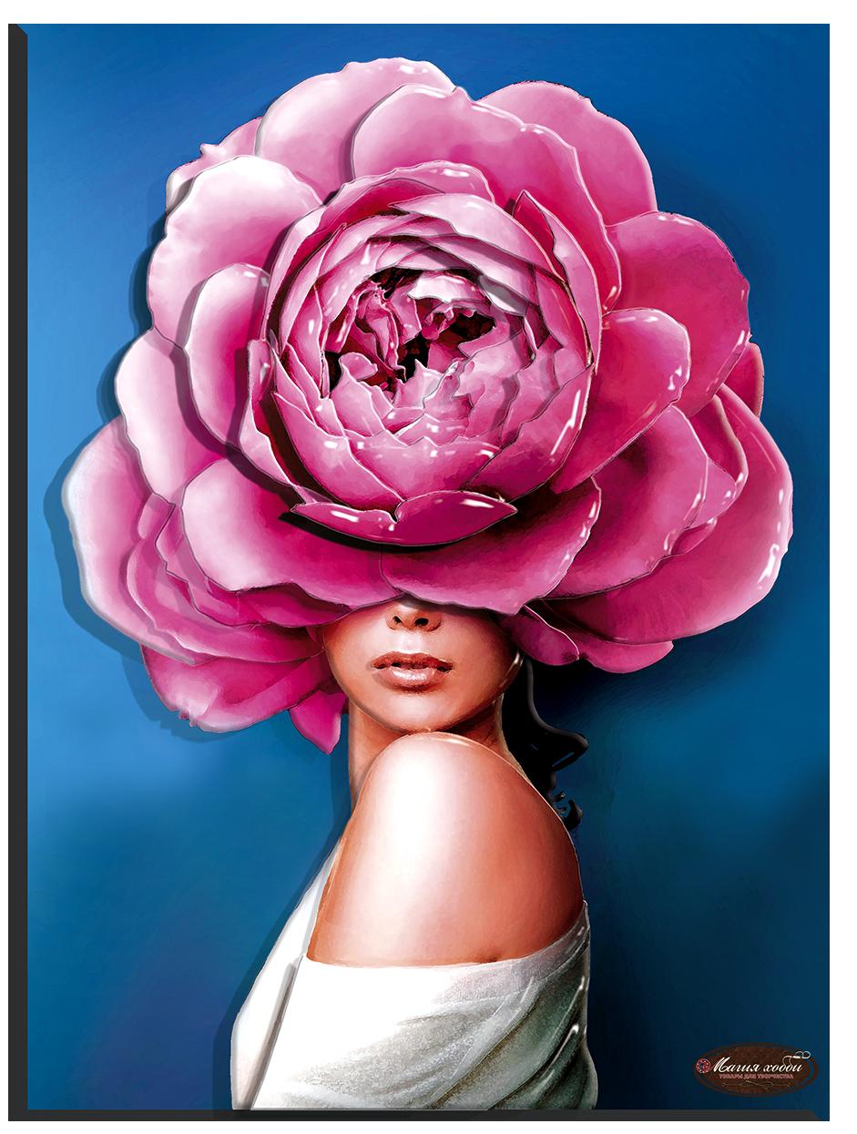 Девушки цветы. Стиль, Размер: 29*39