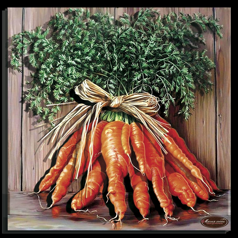 Букет моркови, Размер: 29х29