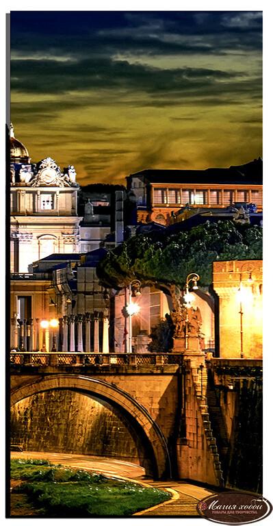 Вечер в Риме часть4, Размер: 25*50