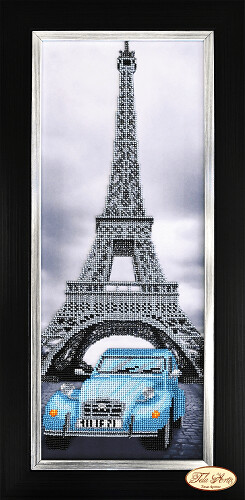 Города мира.Париж, 18х48см