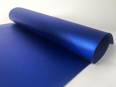 Фоамиран Металлик. толщина 2мм, 60x70см. Индиго