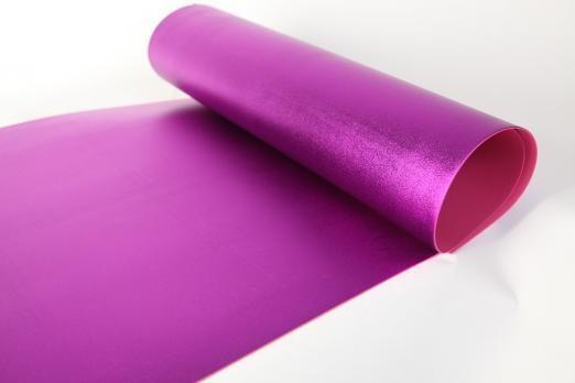 Фоамиран Металлик. толщина 2мм, 60x70см. Фиолетовый