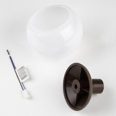 Комплект для изготовления декоративного светильника D=95мм. Шоколад