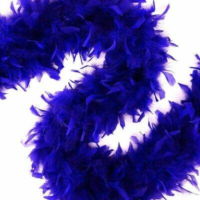 Chandelle Feather Boa - Regal Purple