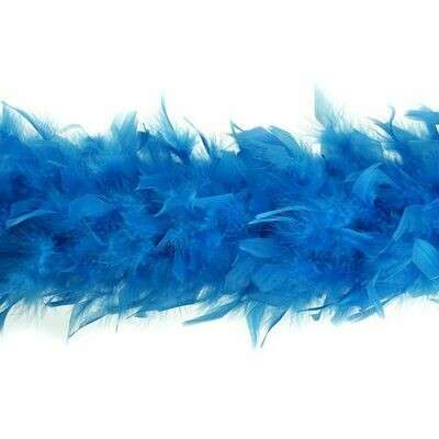 Chandelle Feather Boa - Turquoise
