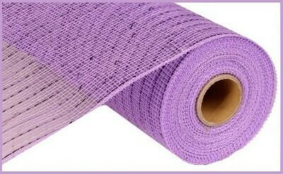 "10.25""X10YD Metallic Mesh: Lavender"