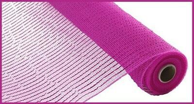 "10.25""X10YD Wide Foil Mesh: Hot Pink"