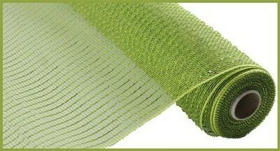 """10.25""""X10YD Wide Foil Mesh:  Moss Green"""
