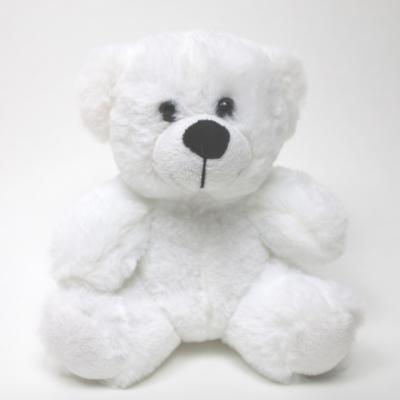 "6"" Colorama Bear - White"