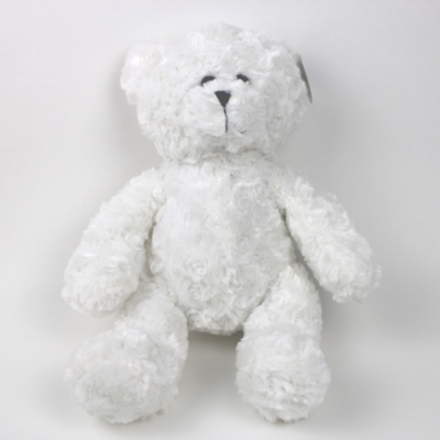 "14"" Cuddle Bear - White"