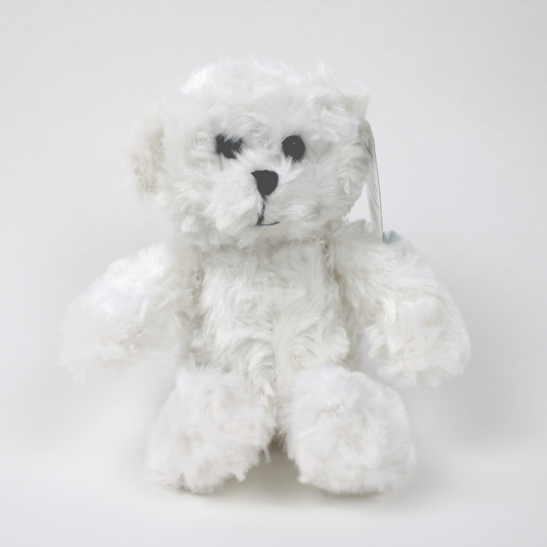 "7.5"" Cuddle Bear - White"