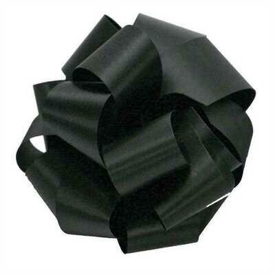 10 yards Satin Acetate  - Black