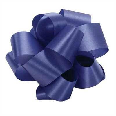 10 yards Satin Acetate  - Royal Blue