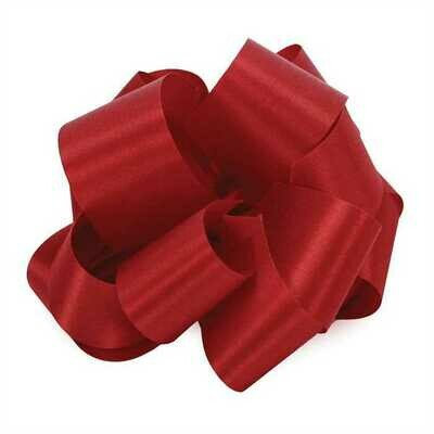 10 yards Satin Acetate  - First Red (Crimson)