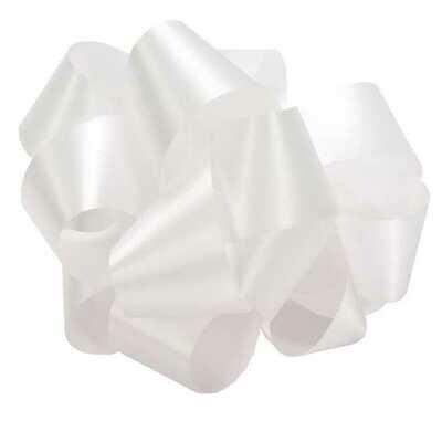 10 yards Satin Acetate - White