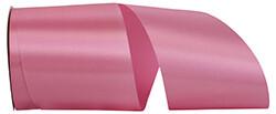 10 yards Satin Acetate - Shock Pink
