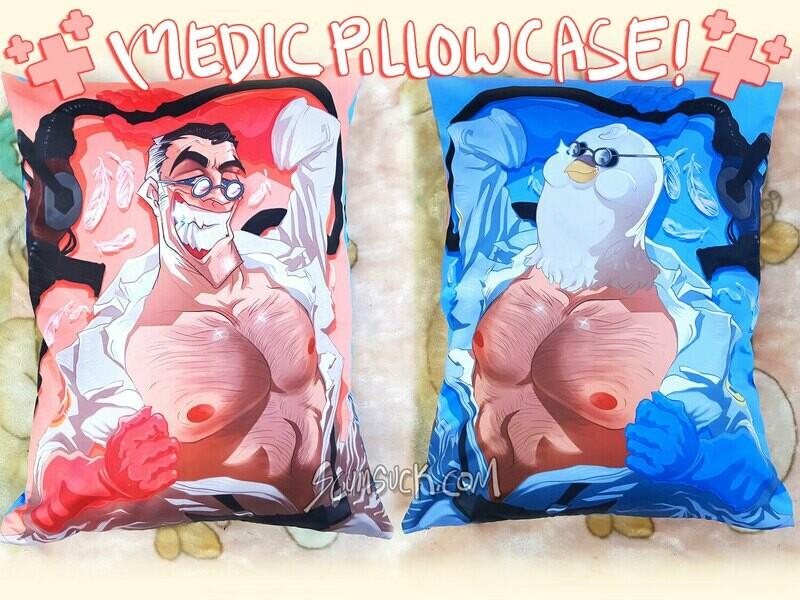 TF2 Medic Pillow Case