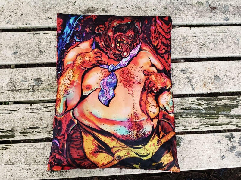 Leatherface Pillow Case