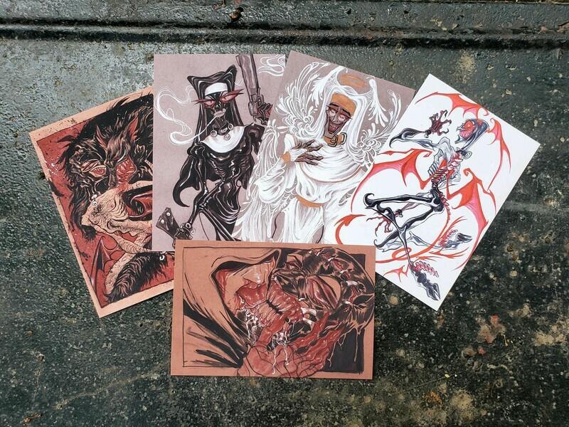 EroGuro Goretober Prints (4x6)