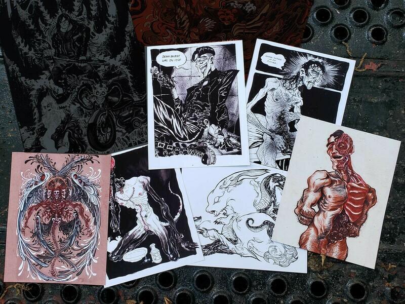EroGuro Goretober Prints (8x10)