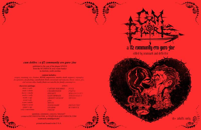 TF2 GORE ZINE: CUM DOLORE digital PDF