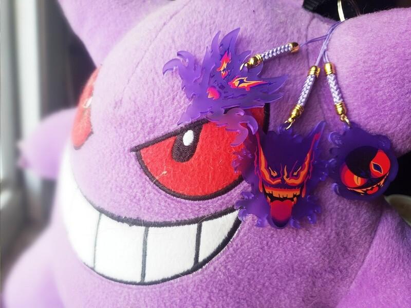 Purple Ghost Charms