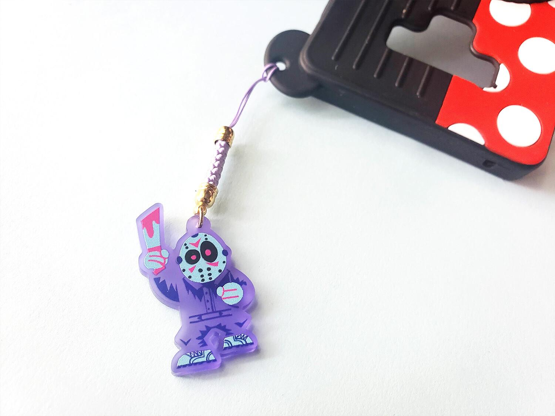 Purple NES Jason Charm